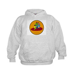 Parents and Child Kids Hoodie