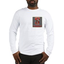 Logo on Front Pocket Area Only - Long Sleeve T-Shi