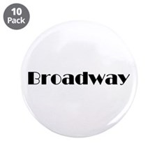 "Broadway 3.5"" Button (10 pack)"