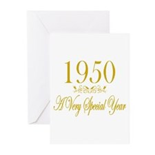 1950 Greeting Cards (Pk of 10)