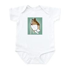 Agility Sheltie Infant Bodysuit