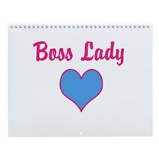 Boss Lady, Wall Calendar