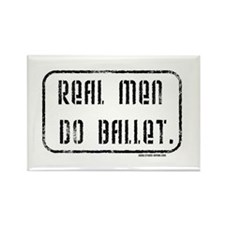 Real Men Do Ballet Magnet (100 pack)