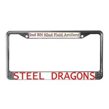 2Bn 82nd FA License Plate Frame