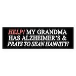Help Grandma Alzheimer's! (Bumper)