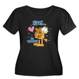 Hugs...No Waiting! Women's Plus Size Scoop Neck Da