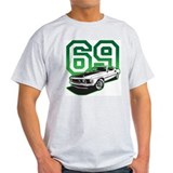 '69 Mustang in Bullit Green T-Shirt