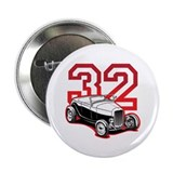 "'32 Roadster in Red 2.25"" Button (100 pack)"