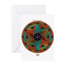 Impossible Sphere Greeting Card