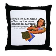 Rumor Throw Pillow