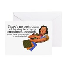 Rumor Greeting Cards (Pk of 10)