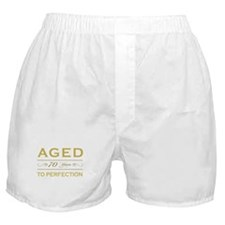 Stylish 70th Birthday Boxer Shorts