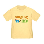 Singing is my Life Toddler T-Shirt