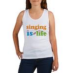 Singing is my Life Women's Tank Top