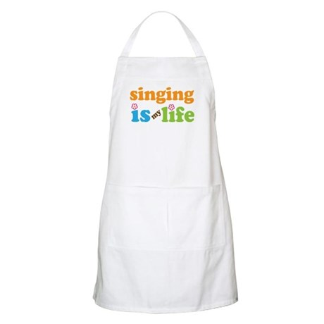 Singing is my Life Apron