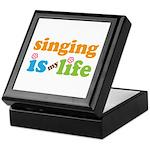 Singing is my Life Keepsake Box