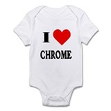 I Love Chrome! Infant Creeper