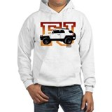 FJ Cruiser Red-Orange Hoodie Sweatshirt