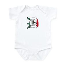 Mexican Flag D (Detroit) Infant Bodysuit