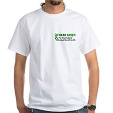 I Wear Green Husband Organ Donor Shirt