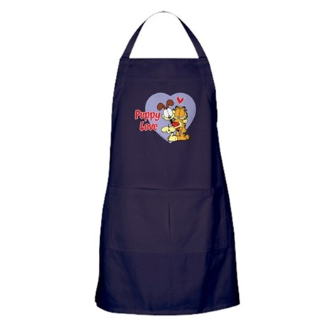 Puppy Love Apron (dark)