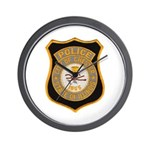 Chester Illinois Police Wall Clock