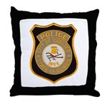 Chester Illinois Police Throw Pillow