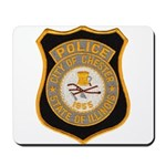 Chester Illinois Police Mousepad