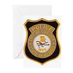 Chester Illinois Police Greeting Cards (Pk of 10)