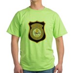 Chester Illinois Police Green T-Shirt