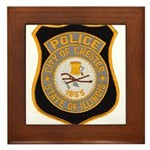 Chester Illinois Police Framed Tile