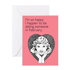Happy Dating Greeting Card
