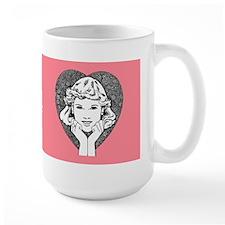 Happy Dating Large Mug