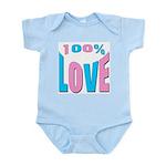 100% LOVE Infant Creeper