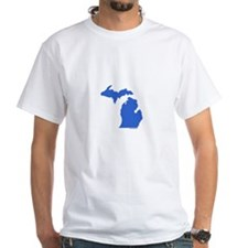 Michigan Peninsulas blue Shirt
