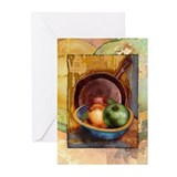 A Bowl of Apples Greeting Cards (6)