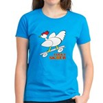 Sk8er Rooster Women's Dark T-Shirt