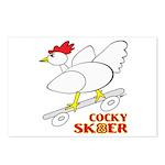 Sk8er Rooster Postcards (Package of 8)