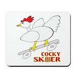 Sk8er Rooster Mousepad