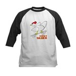 Sk8er Rooster Kids Baseball Jersey