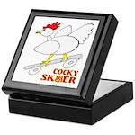 Sk8er Rooster Keepsake Box
