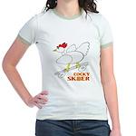 Sk8er Rooster Jr. Ringer T-Shirt