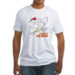 Sk8er Rooster Fitted T-Shirt