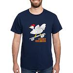 Sk8er Rooster Dark T-Shirt