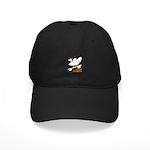 Sk8er Rooster Black Cap