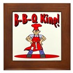 B-B-Q King Framed Tile