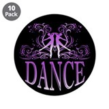 DANCE 3.5&amp;quot; Button (10 pack)