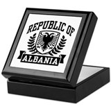 Republic of Albania Keepsake Box