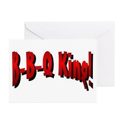 B-B-Q King Greeting Cards (Pk of 10)