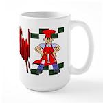 B-B-Q King Large Mug